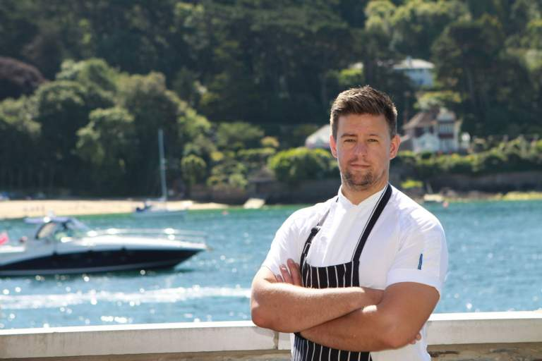 Jamie Guilford. Head Chef at Salcombe Harbour Hotel and Spa, Devon