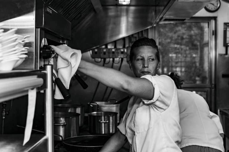 Leah Walker, Chef at the Old Pottery Restaurant, Bovey Tracey