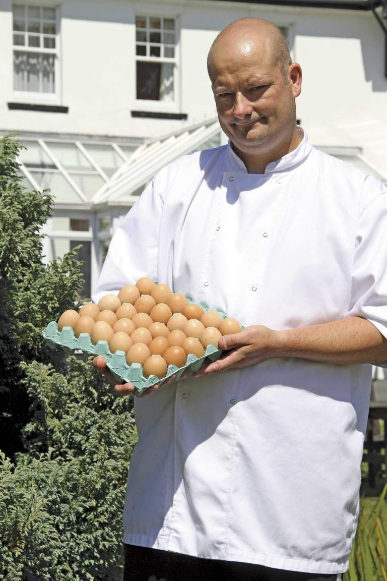 Mike O'Donnell, Head Chef at Ilsington Country House Hotel