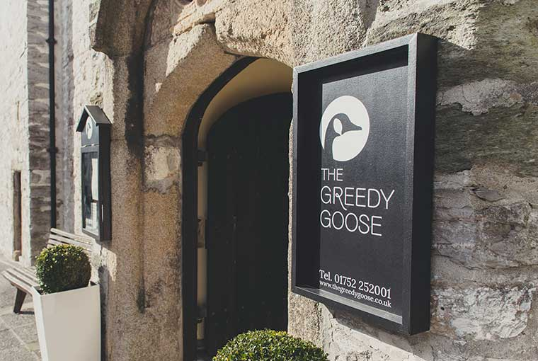 The Greedy Goose, Plymouth