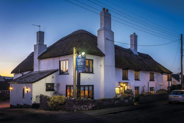 The Thatched Cottage Restaurant - exterior
