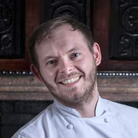 Tom Browning. Head Chef Lewtrenchard Manor